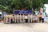 คณะผู้บริหาร ครู บุคลากร วิทยาลัยการอาชีพสองพี่น้อง เดินทางไปร่วมแสดงความยินดีกับ นายบัญชา ใจซื่อ ในโอกาสได้รับการแต่งตั้งให้ดำรงตำแหน่งรองผู้อำนวยการ ณ วิทยาลัยเทคนิคสิงห์บุรี 20 กรกฎาคม 2563