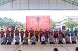 วิทยาลัยการอาชีพสองพี่น้องจัดโครงการอบรมเชิงปฏิบัติการเรียนรู้คุณธรรมต้นแบบให้กับนักเรียนนักศึกษา 23 กันยายน 2563