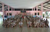 วิทยาลัยการอาชีพสองพี่น้อง จัดพิธีรับเตรียมลูกเสือวิสามัญและประดับแถบสองสี 23 กันยายน 2563