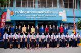 วิทยาลัยการอาชีพสองพี่น้องจัด พิธีเปิดศูนย์การเรียนรู้และถ่ายทอดเทคโนโลยียานยนต์  และรับมอบชุดสื่อการเรียนยานยนต์ และชุดรถยนต์เพื่อการเรียนการสอน วันพุธที่ 28 ตุลาคม 2563
