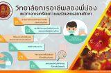 แนวทางป้องกันเตรียมความพร้อมของวิทยาลัยการอาชีพสองพี่น้อง อย่างเคร่งครัด เปิดเรียนวันที่ 1 กุมภาพันธ์ 2564