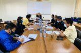 เข้าร่วมประชุมผู้บริหารสถานศึกษา ระดับอาชีวศึกษา  จังหวัดสุพรรณบุรี ครั้งที่ 1/2564 16 กุมภาพันธ์ 2564