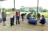 จัดทำสุขาลอยน้ำ เพื่อมอบให้กับชุมชน ที่ประสบอุทกภัยน้ำท่วมในอำเภอสองพี่น้อง